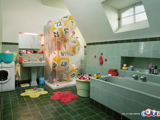 Loto Print Ad -  Shower