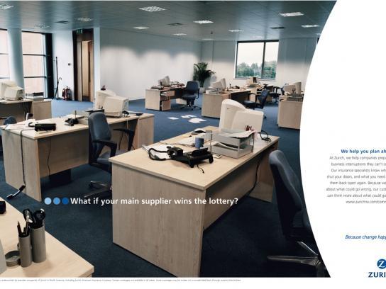 Zurich Print Ad -  Lotto