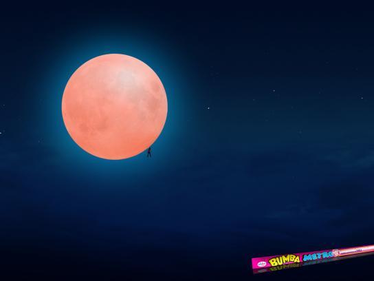 Bumba Print Ad -  Lunar Eclipse