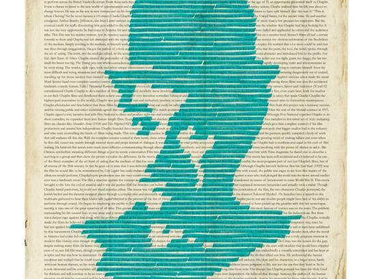 Luxor Print Ad -  Chaplin