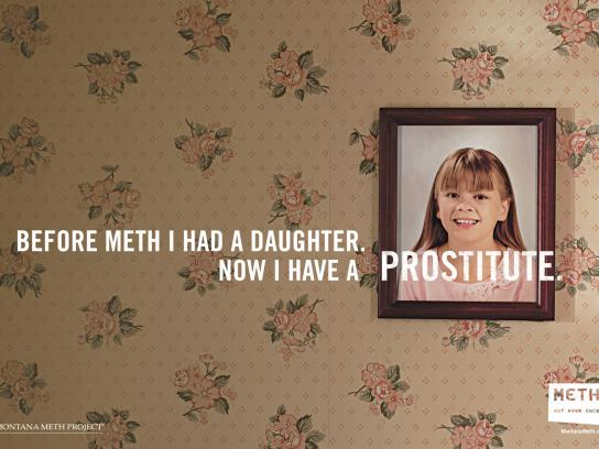 Montana Meth Project Print Ad -  Prostitute