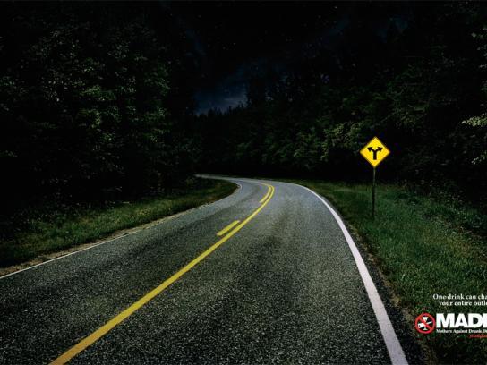 MADD Print Ad -  Road, 3