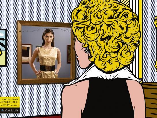 MARGS Print Ad -  Lichtenstein