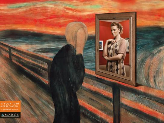 MARGS Print Ad -  Munch