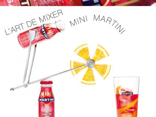 Martini Print Ad -  Rosato