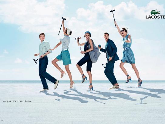 Lacoste Print Ad -  Club