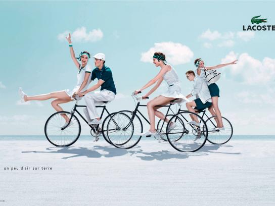 Lacoste Print Ad -  Match point