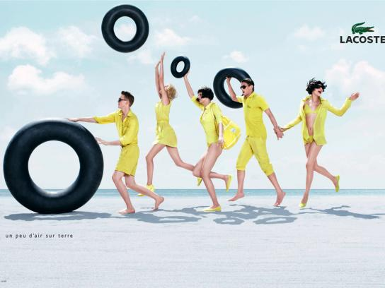 Lacoste Print Ad -  Summer