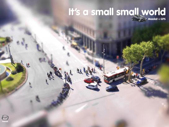 Mazda Print Ad -  GPS, 4
