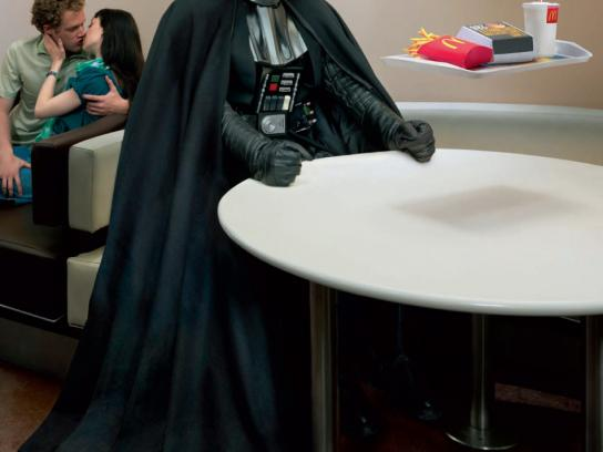 McDonald's Print Ad -  Come as you are, Darth Vader