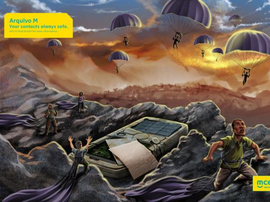 MCEL Print Ad -  Parachute