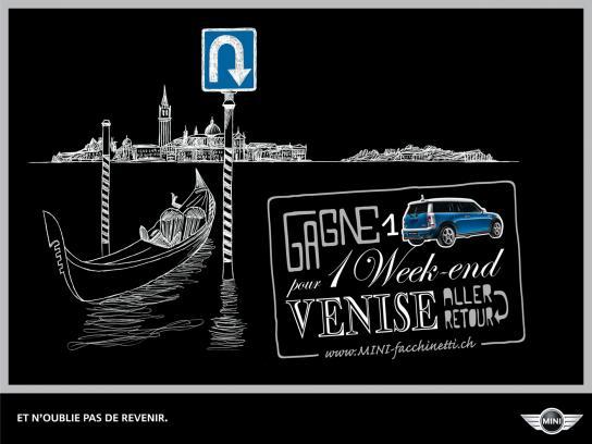 Mini Print Ad -  Weekend trips, Venice