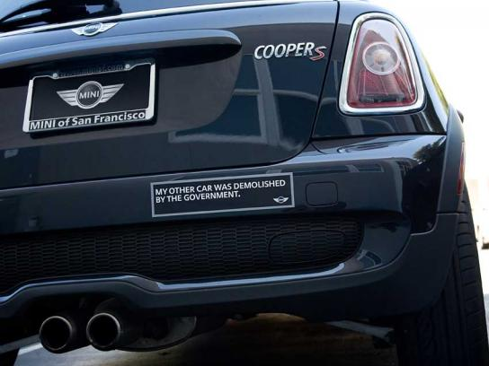 Mini Ambient Ad -  Bumpers sticker