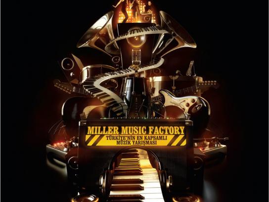 Miller Print Ad -  Miller Music Factory