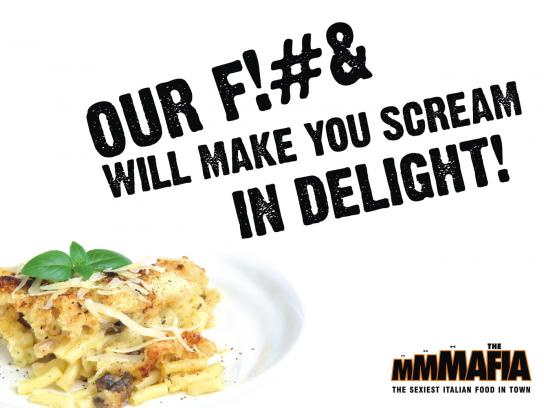 The MMMafia Print Ad -  Delight