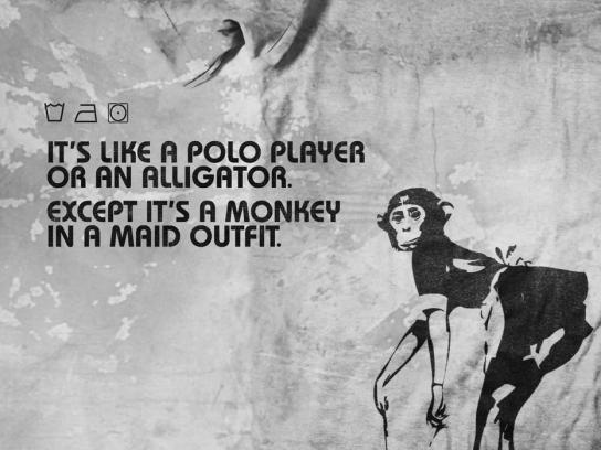 MonkeyFist Print Ad -  Polo