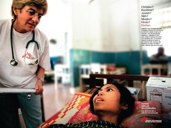 Medecins Sans Frontieres Print Ad -  Cambodia