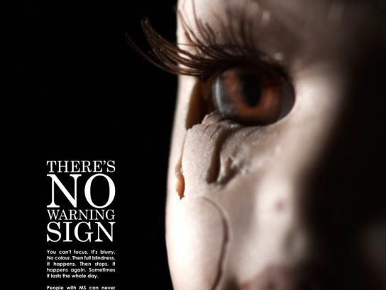 Multiple Sclerosis Society of Canada Print Ad -  Sight