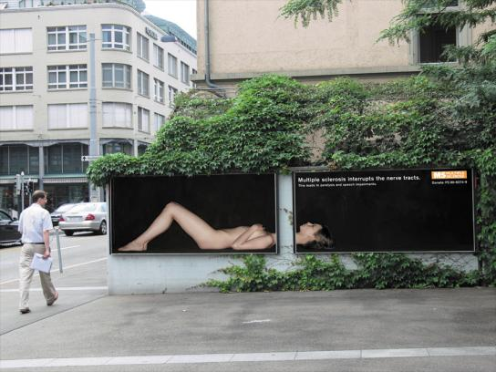 Multiple Sclerosis Society Outdoor Ad -  Speech