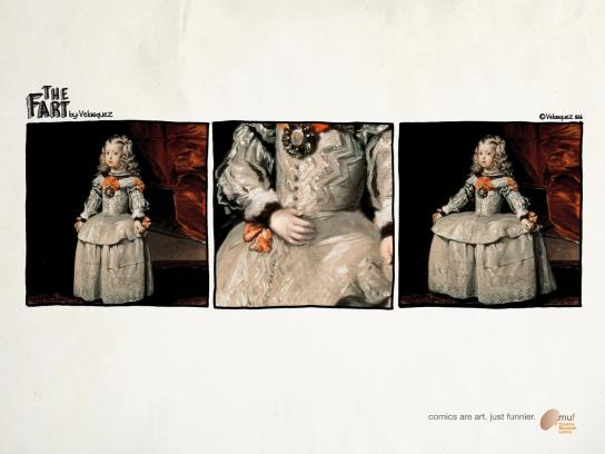 Museo Nazionale del Fumetto Print Ad -  The Fart