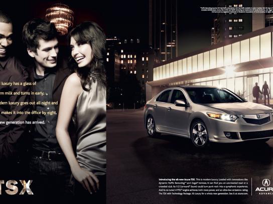 Acura Print Ad -  Arrival