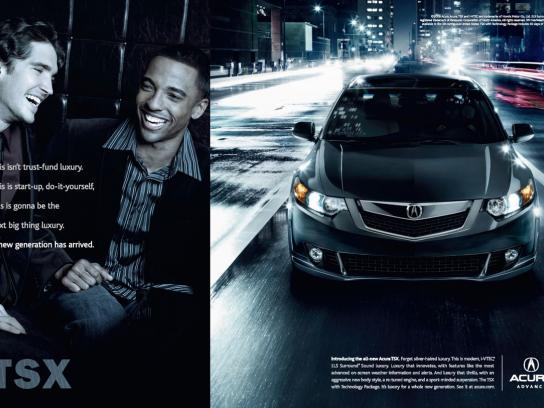Acura Print Ad -  City life