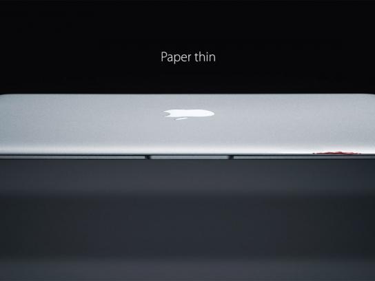 Apple Print Ad -  Blood
