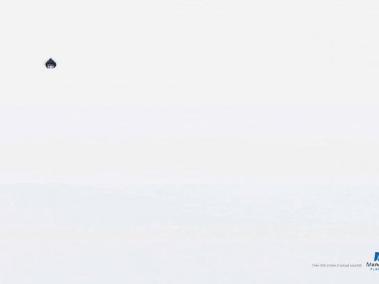 Mammoth Print Ad -  Cabin