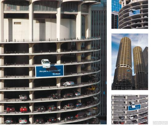 Allstate Ambient Ad -  Marina Tower