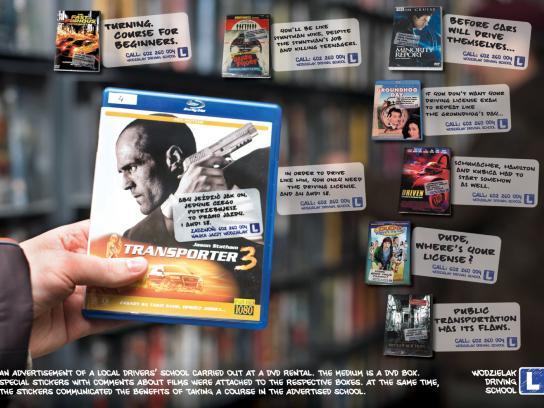 Wodzielak Ambient Ad -  DVD Stickers
