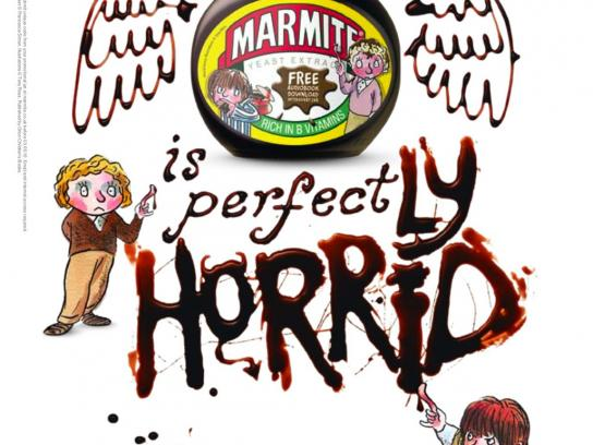 Marmite Print Ad -  Horrid Henry and Perfect Peter, 2