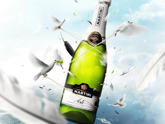 Martini Print Ad -  Air