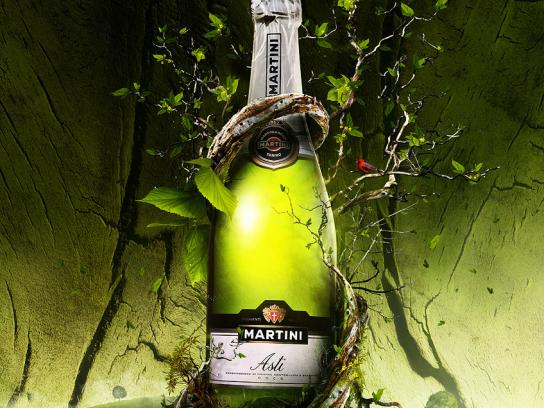 Martini Print Ad -  Earth