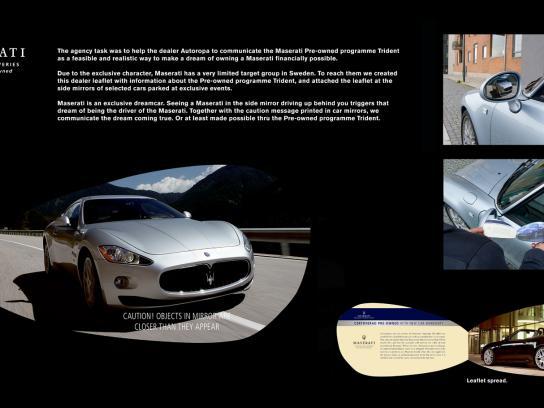Maserati Ambient Ad -  Trident