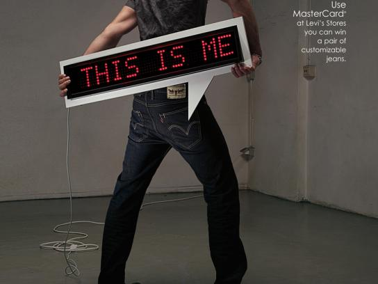 MasterCard Print Ad -  This is me