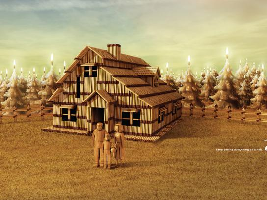 Insurance ETB Print Ad -  Matches