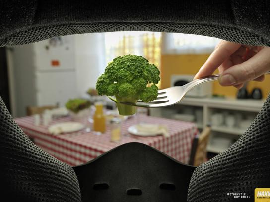 Maxx Fun Print Ad -  Broccoli