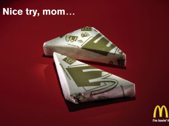 McDonald's Print Ad -  Sandwich, 2