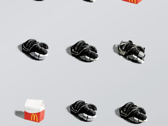 McDonald's Print Ad -  Hockey, 3