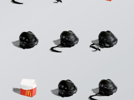 McDonald's Print Ad -  Hockey, 1