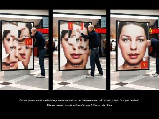 McDonald's Outdoor Ad -  Sort your head out
