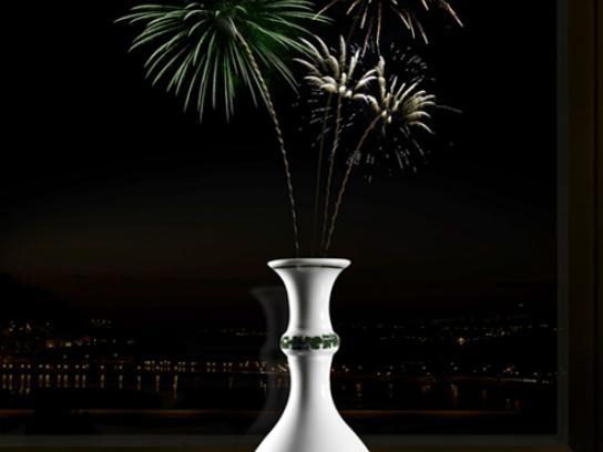 Meissen Porcelain Print Ad -  Green