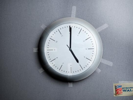 Melon Print Ad -  Clock