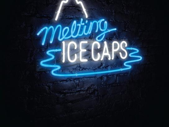 WWF Print Ad -  Melting Ice Caps