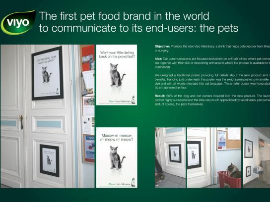 Viyo Ambient Ad -  Meow