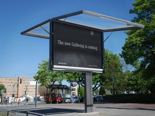 Mercedes Outdoor Ad -  Gullwing