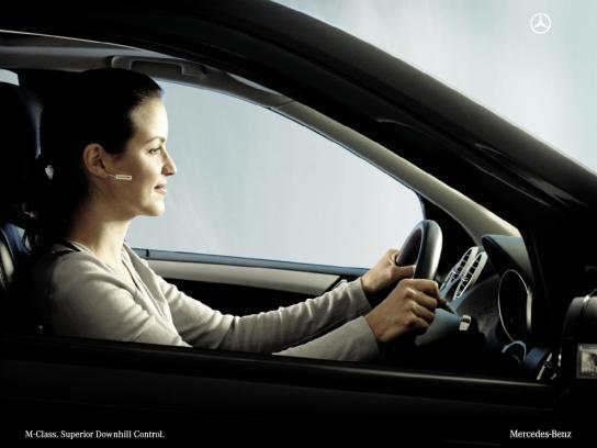 Mercedes Print Ad -  Earring