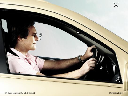 Mercedes Print Ad -  Sunglasses