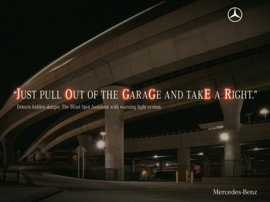 Mercedes Print Ad -  Hidden danger, Jogger