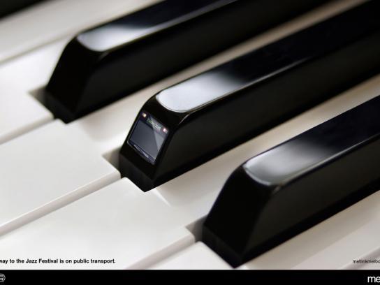 Metlink Print Ad -  Piano